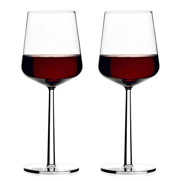 Iittala rode wijnglas set van 2