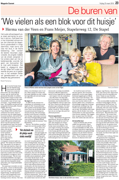 Interview Meppeler Courant